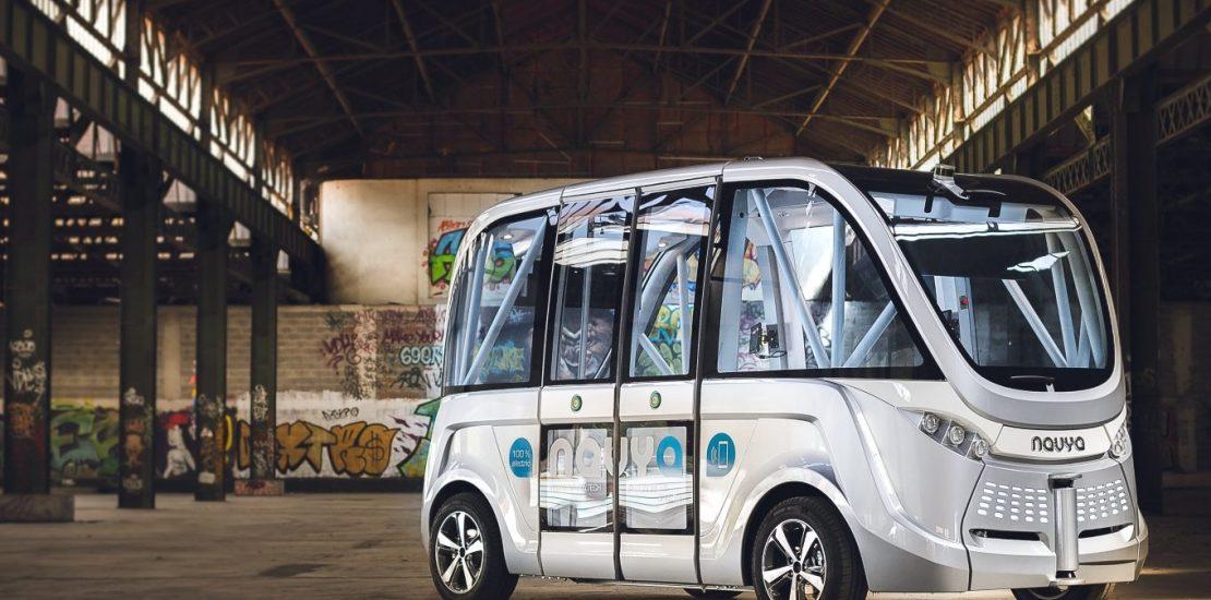 Autobús eléctrico Navya