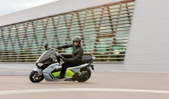 Moto BMW eléctrica