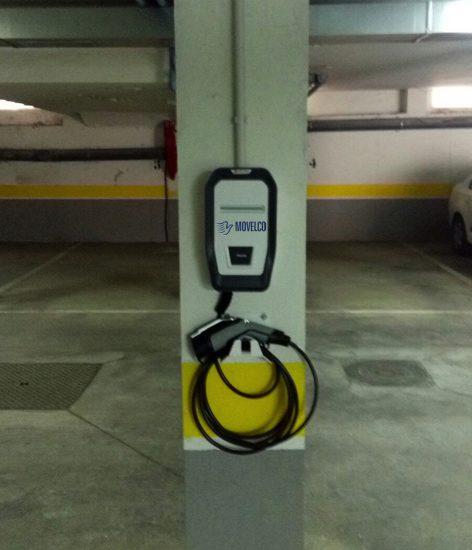 Punto de carga eléctrica Movelco