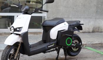 Batería eléctrica extraíble de moto