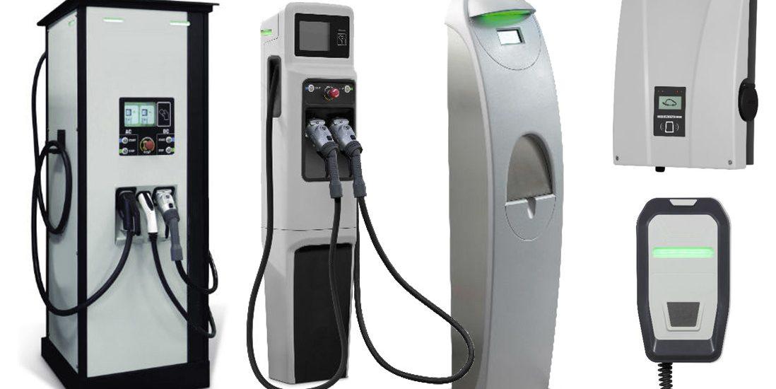 Cargadores eléctricos para vehículos