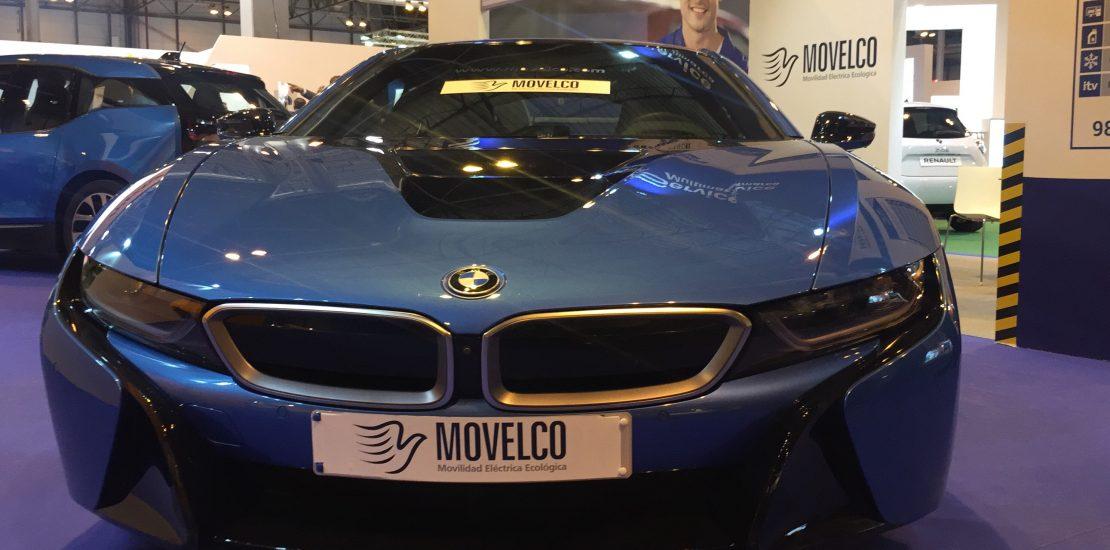BMW i8 de Movelco en Motortec