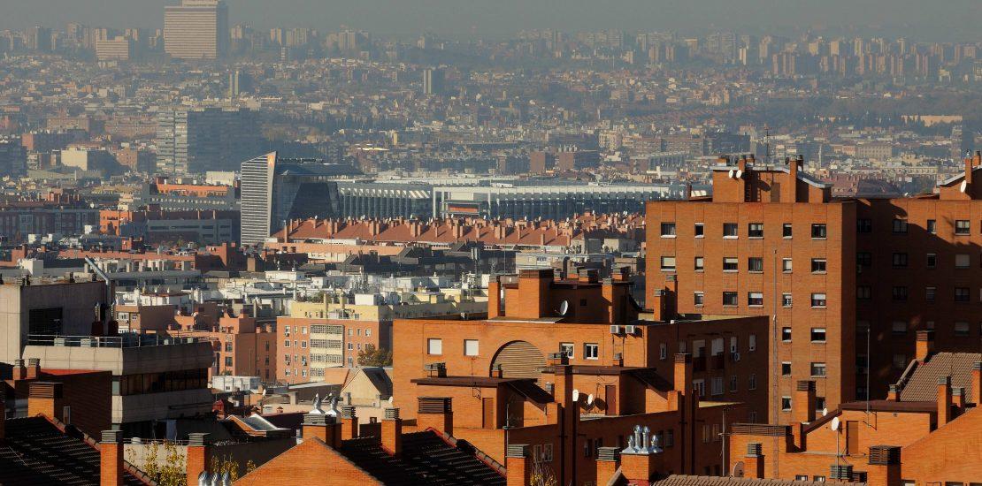 El Plan de Calidad del Aire reducirá la nube de contaminación sobre Madrid