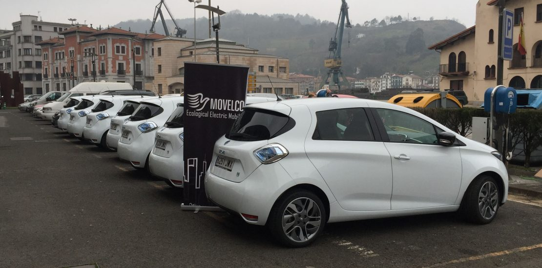 Flota Movelco Renault ZOE Puerto Pasaia