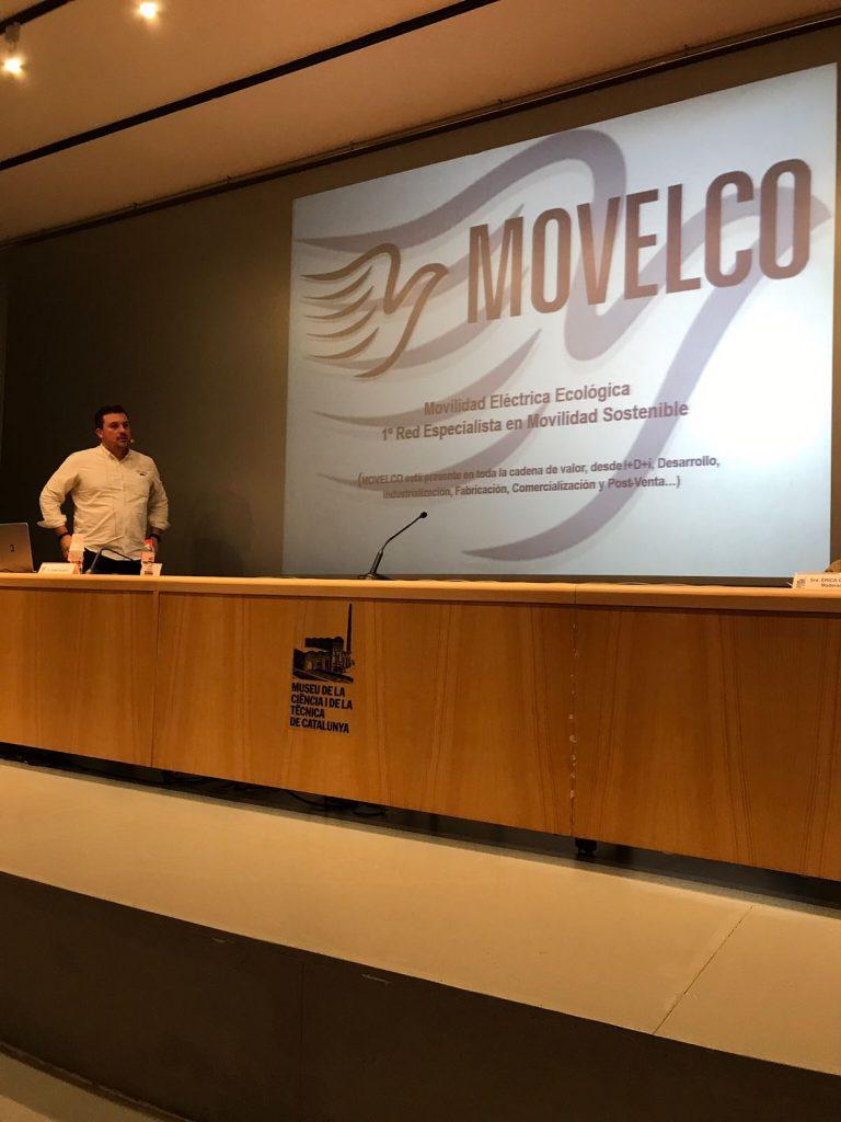 Rubén Blanco, durante la ponencia presentada en Som Elèctrics