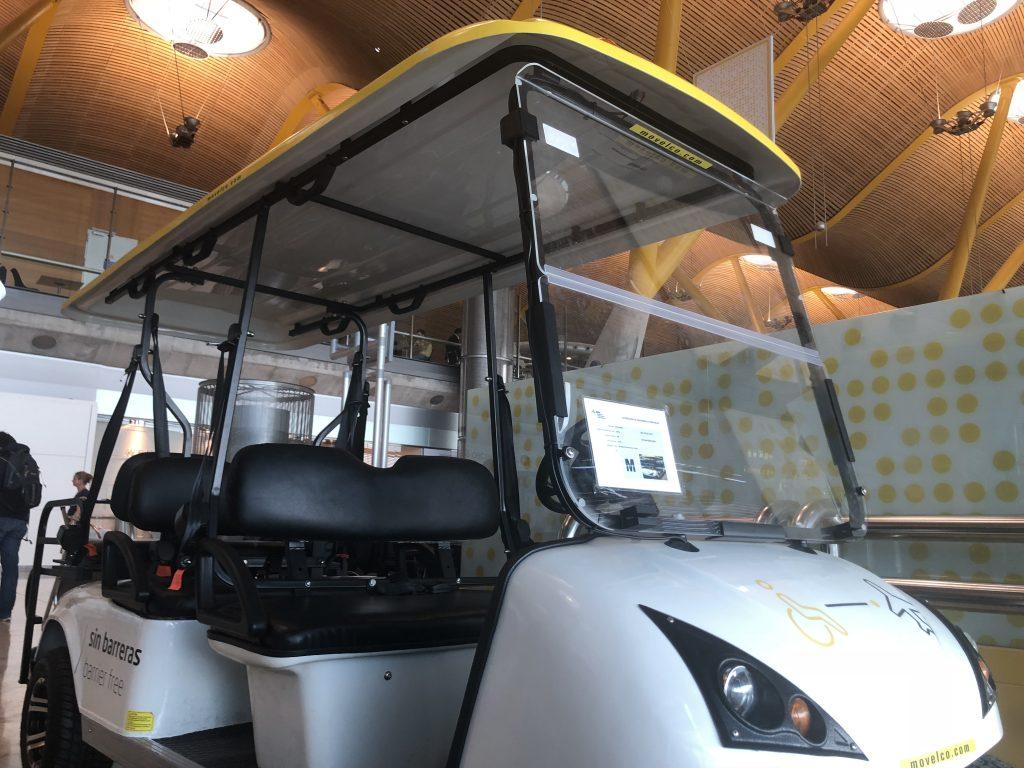 vehiculo especial t4 barajas