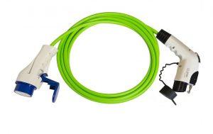 cable de recarga tipo 3 a tipo 1