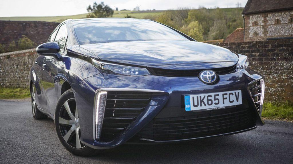Toyota Mirai coche electrico